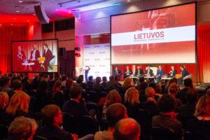 Akimirkos iš didžiausio ir solidžiausio renginio Lietuvos verslo lyderiams