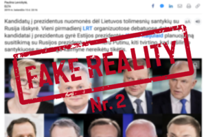 """Rinkimų baigtį nulemsianti melaginga įtaiga Nr. 2, arba Delfi.lt vienijasi su kremliniais, nomenklatūra ar tiesiog išlieka ištikimas """"verslo principams""""?"""