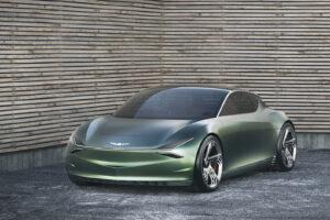 """Niujorko automobilių parodoje dėmesį patraukė bendrovės """"Genesis"""" mažylis"""