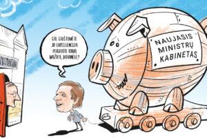 R. Karbauskio vizija – užtrolinti  S. Skvernelis, G. Nausėda ir Lietuva