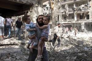 Sirijoje pasaulinis karas neprasidės, tačiau kraujo upė neišdžius