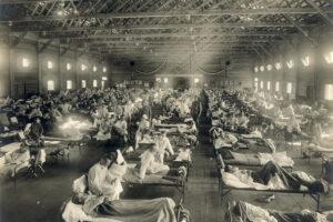 Koronaviruso pandemijos  plėtros scenarijai  ir didžiausias pavojus žmonijai