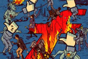 """Geopolitinis košmaras: """"Google"""" ir """"Facebook"""" minta demokratija, o tuštinasi troliais"""
