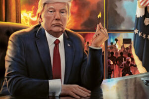 Donaldo Trumpo era:  karas JAV gatvėse, kaip ir COVID-19, gali smogti antrąja banga