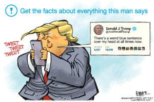 Tviteris užtrolino trolius, Donaldas užtrolino tviterį