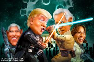 """Kodėl JAV prezidento rinkimus turėtų laimėti """"korumpuotas"""" ir """"nupušęs"""" Joe Bidenas?"""