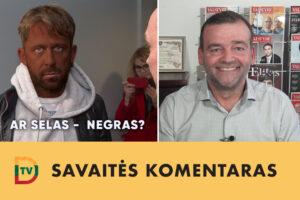 Savaitės klausimas: ar gali būti, kad Selas yra kankinamas ir smaugiamas negras? (2020-09-07)
