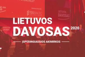 LIETUVOS DAVOSAS 2020. Įspūdingiausios akimirkos