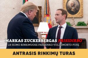 Seimo rinkimai 2020 / VIII dalis. Markas Zuckerbergas prisidirbo. LR Seimo rinkimuose pasirinko Voldemorto pusę.