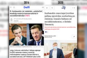 Kreipimasis į Lietuvos demokratines jėgas ir patriotus: neleiskime ne tik komercinei žiniasklaidai, bet ir LRT skleisti su Rusija verslo ryšiais susijusiems oligarchams R. Karbauskiui ir V. Uspaskichui naudingos propagandos!