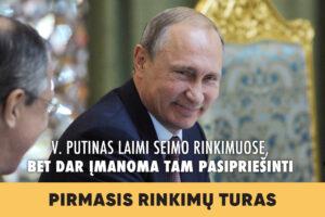 Seimo rinkimai 2020 / II dalis. V. Putinas laimi Seimo rinkimuose, bet dar įmanoma tam pasipriešinti.