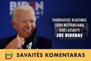 Savaitės komentaras su Eduardu Eigirdu (2020-11-11). JAV prezidento rinkimus laimėjo demokratas, tačiau dar anksti teigti, kad juos pralaimėjo V. Putinas