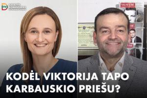 Savaitės komentaras su Eduardu Eigirdu (2020-11-17). Kam R. Karbauskiui buvo reikalingas karas su V. Čmilyte-Nielsen?