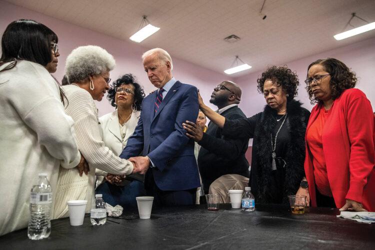 J. Bideno malda – Dievui į ausį