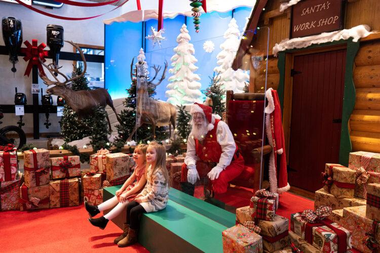 Apsauginis skydelis ir Kalėdų Senelis