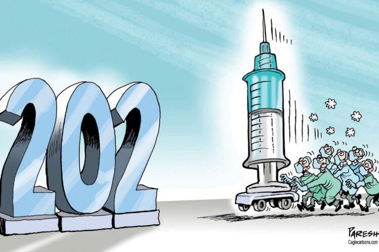 2021-aisiais pasaulis turėtų tapti geresnis. Bet tik tam tikromis sąlygomis