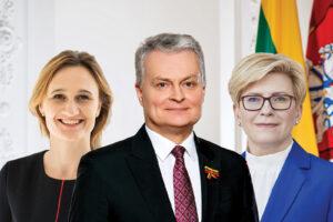 G. Nausėda, V. Čmilytė-Nielsen ir I. Šimonytė  gali reanimuoti demokratinės politikos galią