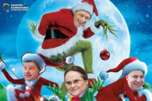 Privalome sutrukdyti Kalėdas pavogusiam Naisių Grinčui kaltę suversti Ingridos Šimonytės Vyriausybei