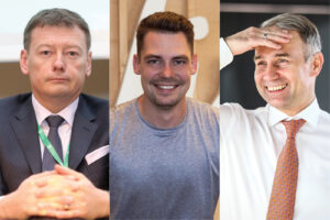 Verslo lyderiai:  M. Mikuckas,  V. Janulevičius,  P. Masiulis