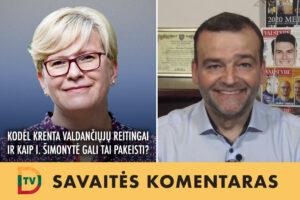 Kodėl krenta I. Šimonytės ir kyla R. Karbauskio bei V. Blinkevičiūtės reitingai?
